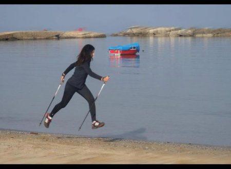 Nordic Walking sulla spiaggia