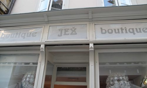 Boutique Jez a Lubiana
