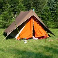 Avventura erotica in tenda