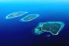 Isole Gili. Oceano Indiano