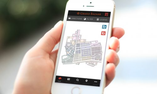Viaggiare con un'app