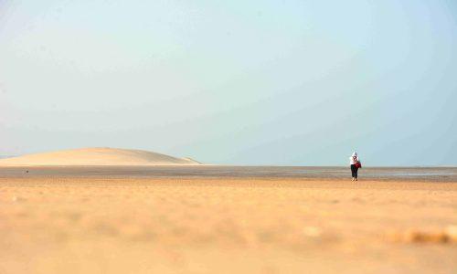 Tra le dune del Sahara