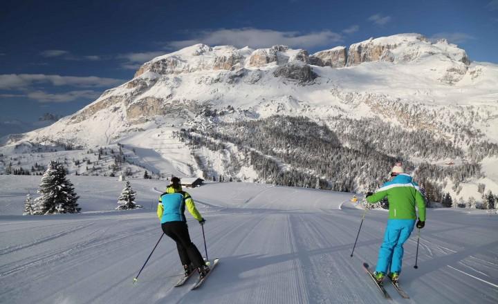 Ad Arabba per sciare low cost, a primavera