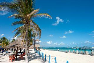 Playa Tortugas beach, Cancun, Yucatan Peninsula, Mexico