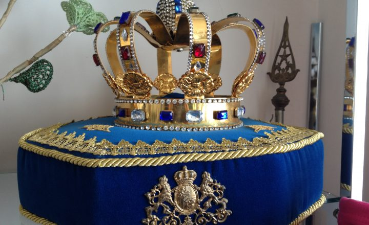 Sul trono del principato di Seborga