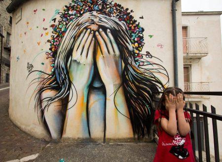 Tra la street art in Molise a Civitacampomarano